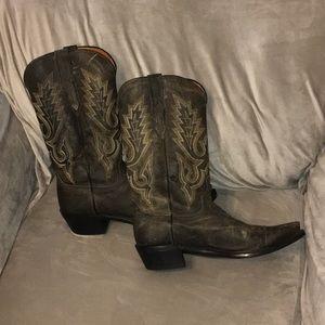 EUC Lucchese Cowboy Boot